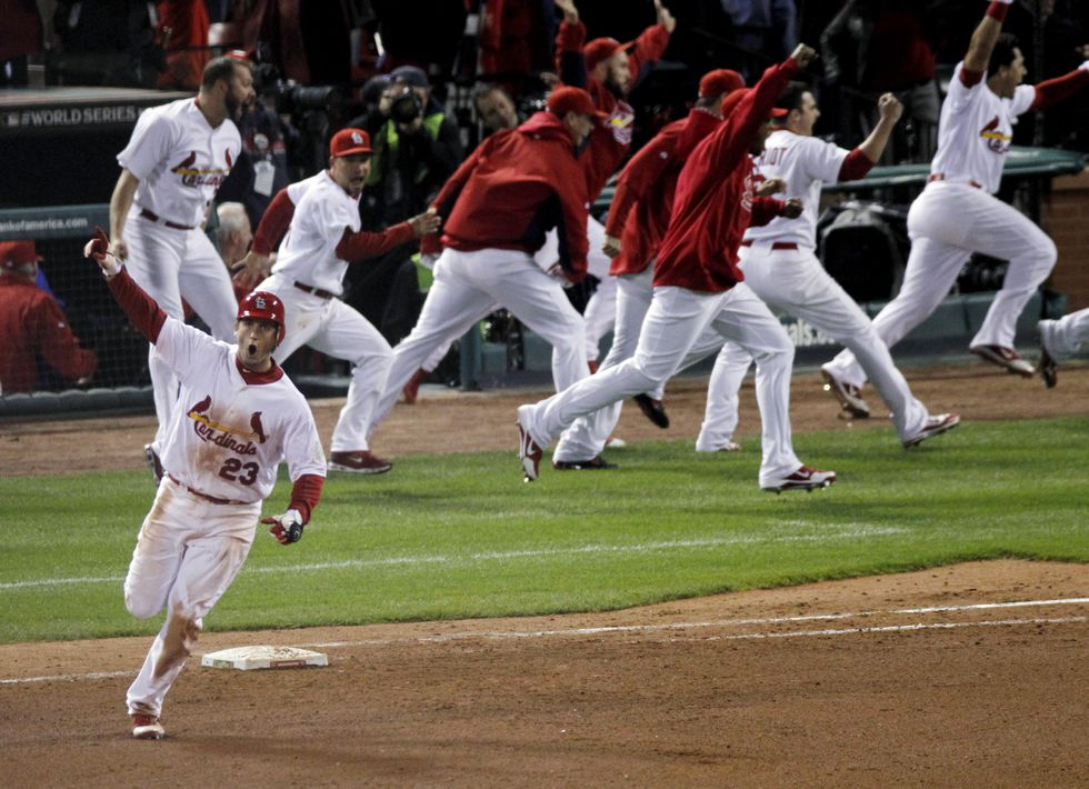 St. Louis Cardinals: David Freese became a World Series hero nine years ago