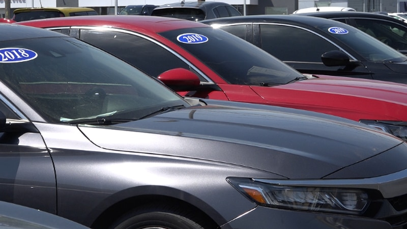 Pre-owned car dealers offer incentives to increase inventory as sales reach record highs.