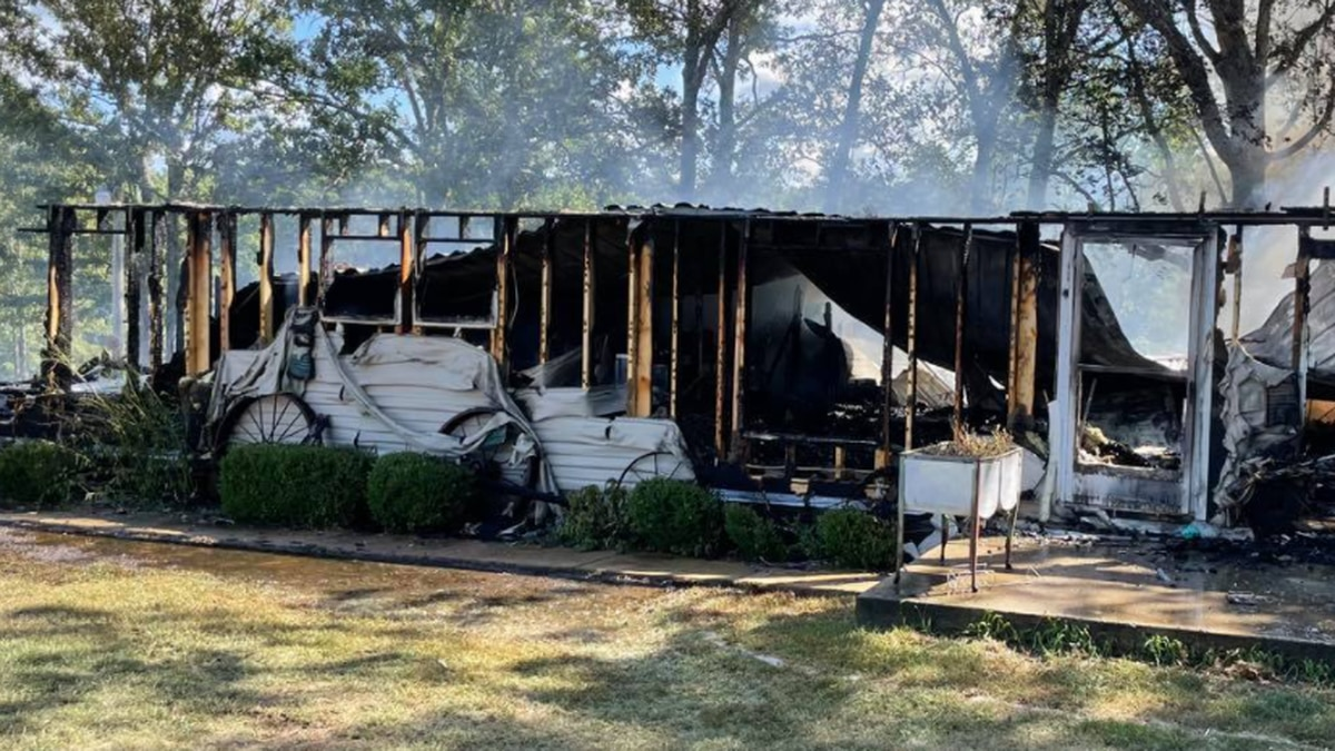 """A Phelps County home is deemed a """"total loss"""" following significant damage from a fire Friday..."""