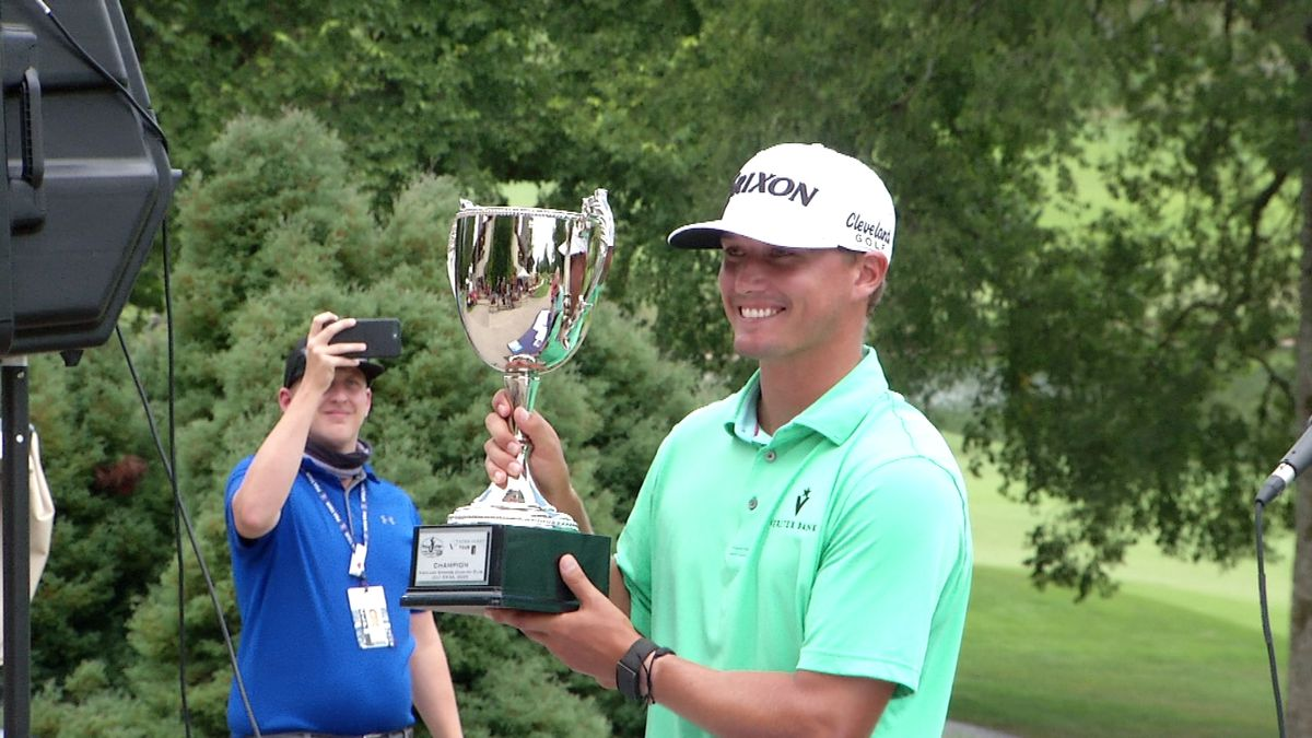 McGreevy claims first Korn Ferry Tour win.