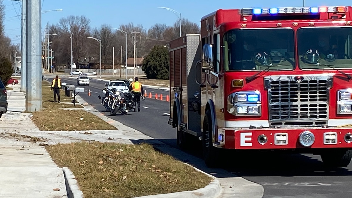 Officers responded to the crash Tuesday around 10:30 a.m. near the intersection of Fremont and...