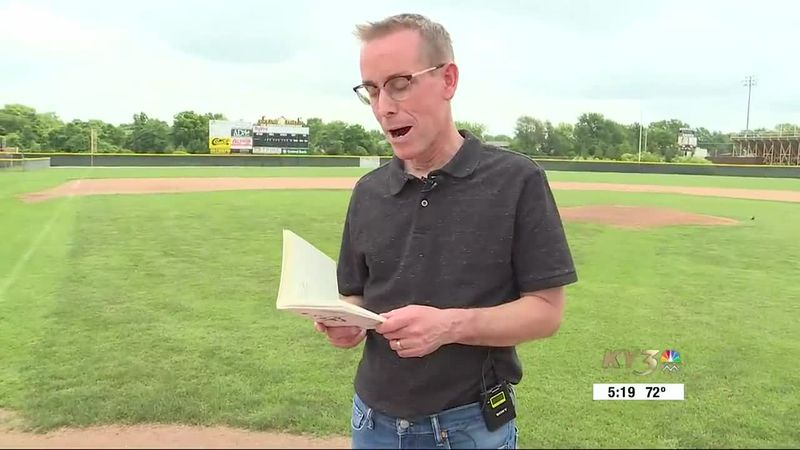 Kickapoo High School's Loren Broaddus is a baseball fan who happens to be a U.S. History...