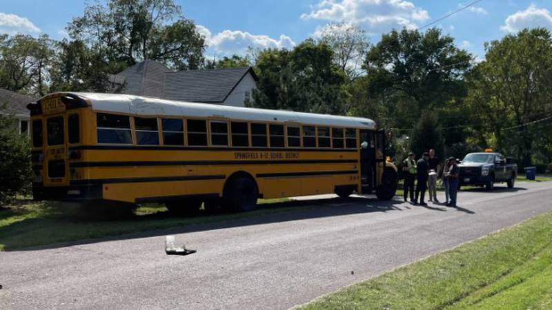 The Springfield Police Department is investigating a crash involving a school bus Friday...