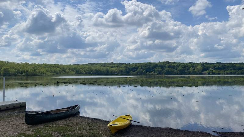 People can rent canoes, kayaks and paddle boards at Lake Springfield.