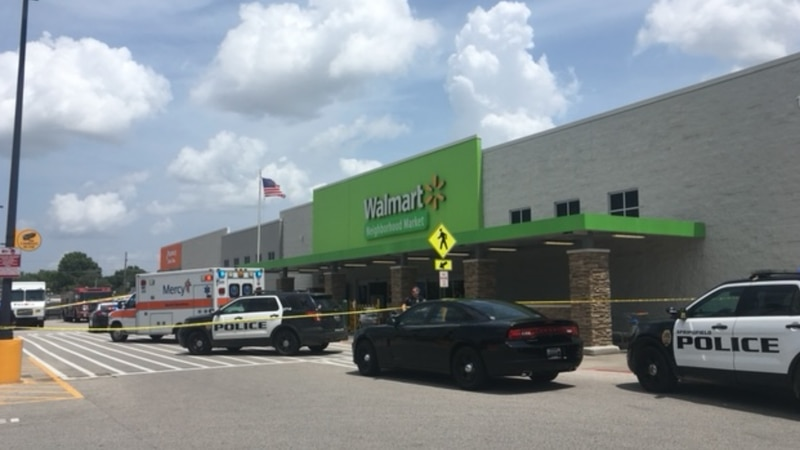 Officers responded around the noon hour at the Neighborhood Walmart located at 1320 South...