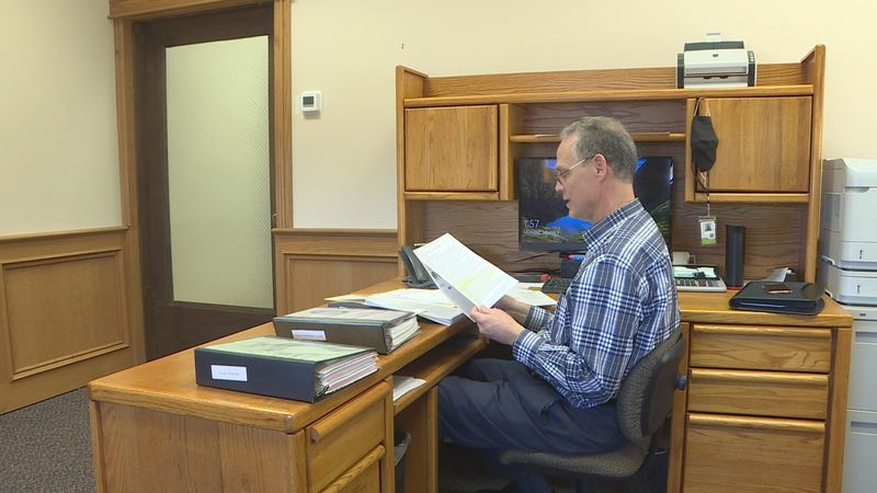 Greene County Collector starts his first day in office