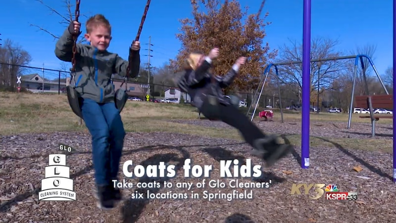 Council of Churches of the Ozarks and Glo Cleaners are teaming up for the annual Coats for Kids...