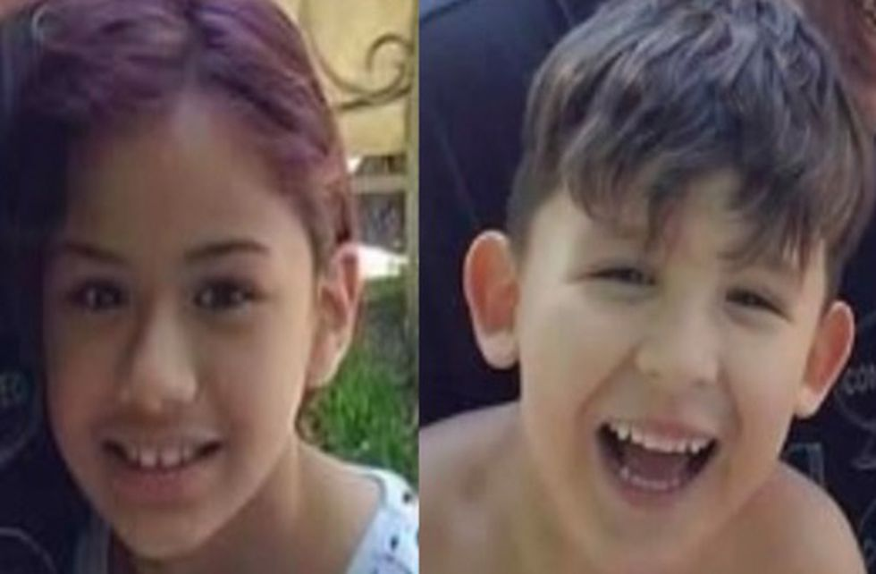 Police say Hilda Melendez took Samuel Padron, 4, and Genesis Padron, 8 from a home in Southwest City after assaulting a woman watching the children.