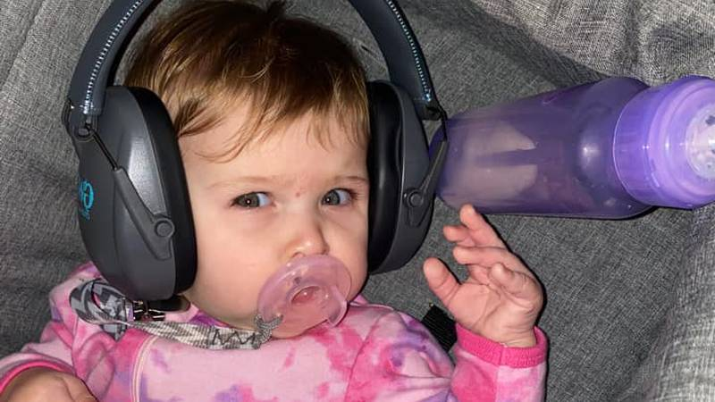 CoxHealth recommends young children to wear noise blocking headphones when watching fireworks.