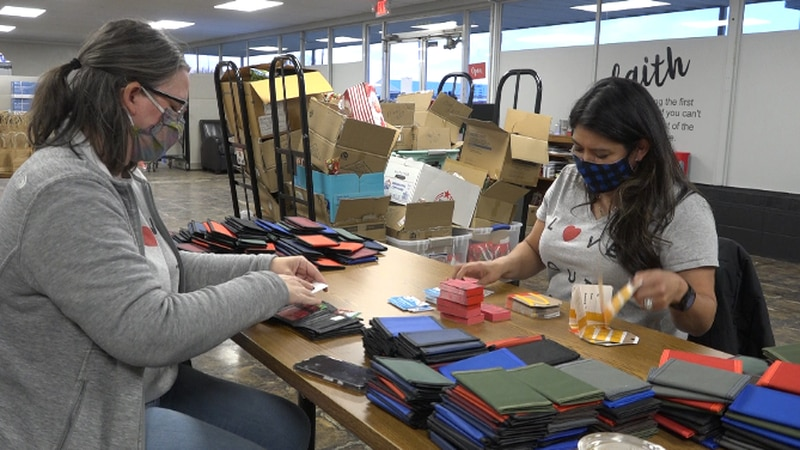The Connecting Grounds delivers more than 150 Christmas presents to people living on the streets.