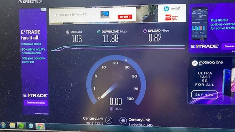 Slow internet hinders rural areas
