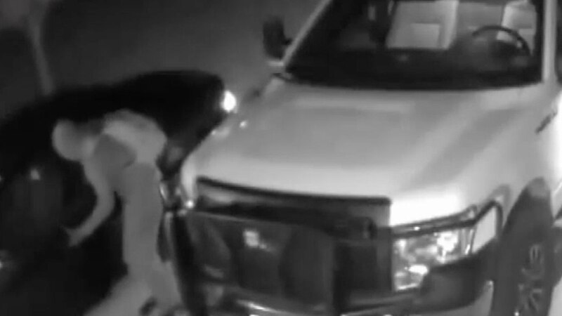 Police release surveillance for suspect wanted in break-ins in Willard, Mo.