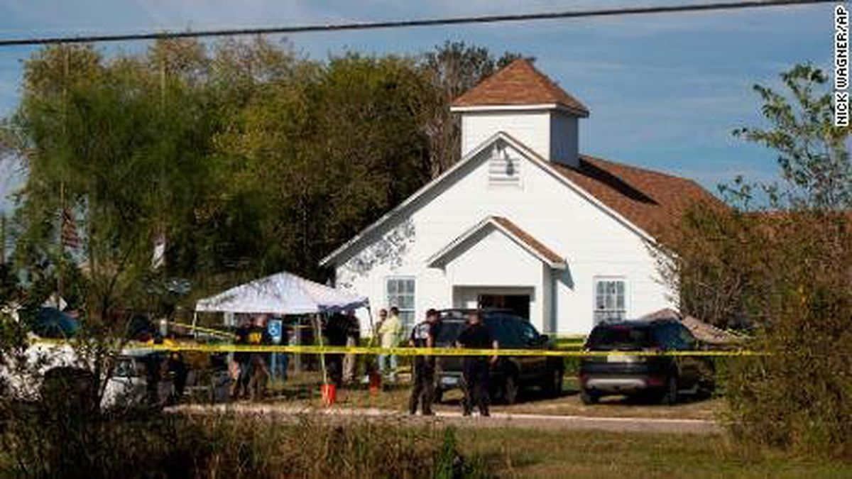 **This image is for use with this specific article only.**<br /><br />Multiple people have been killed and many more injured in a shooting Sunday at First Baptist Church of Sutherland Springs, Texas, authorities said.
