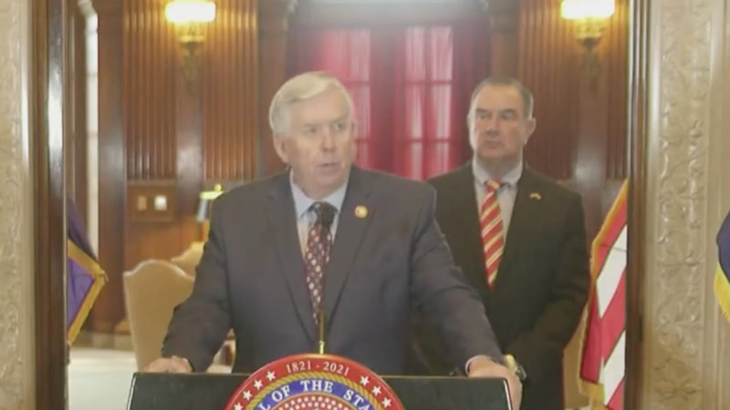 Missouri Gov. Mike Parson