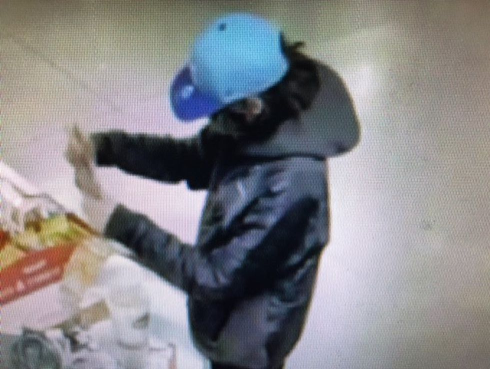 The man used a stolen credit card to buy dozens of lottery scratchers.