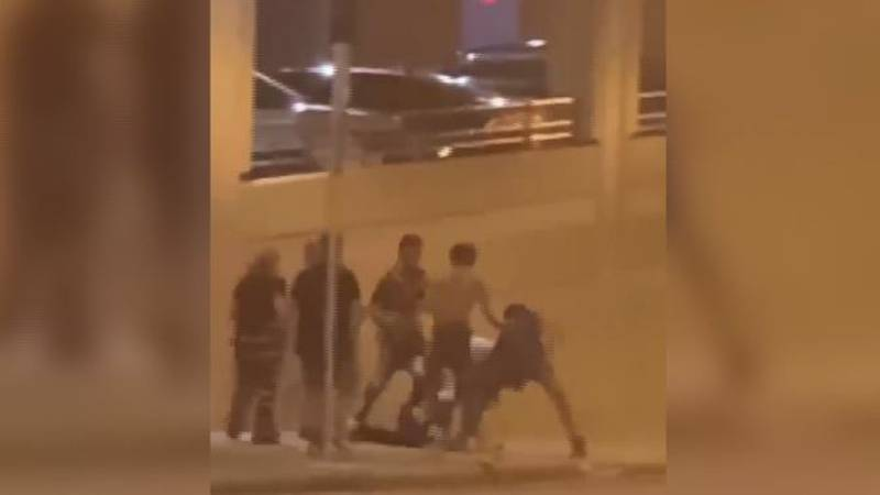 Group attacks man in downtown Springfield Tuesday morning