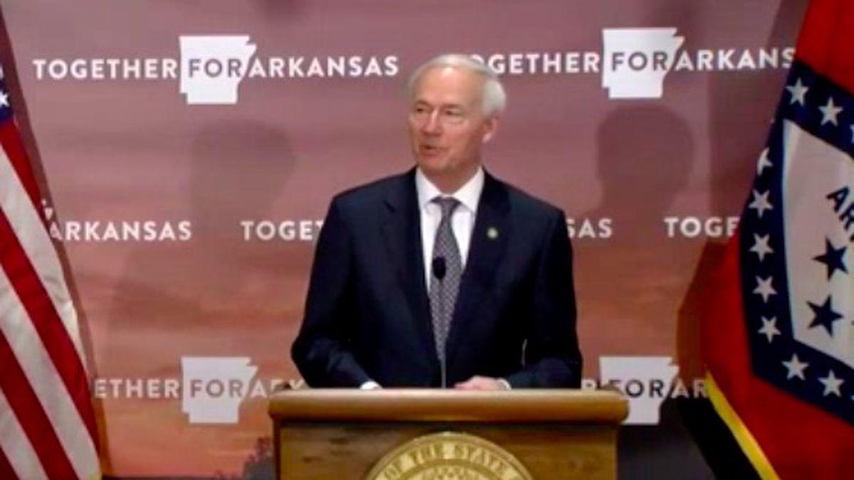 Governor Hutchinson briefed the media Tuesday.