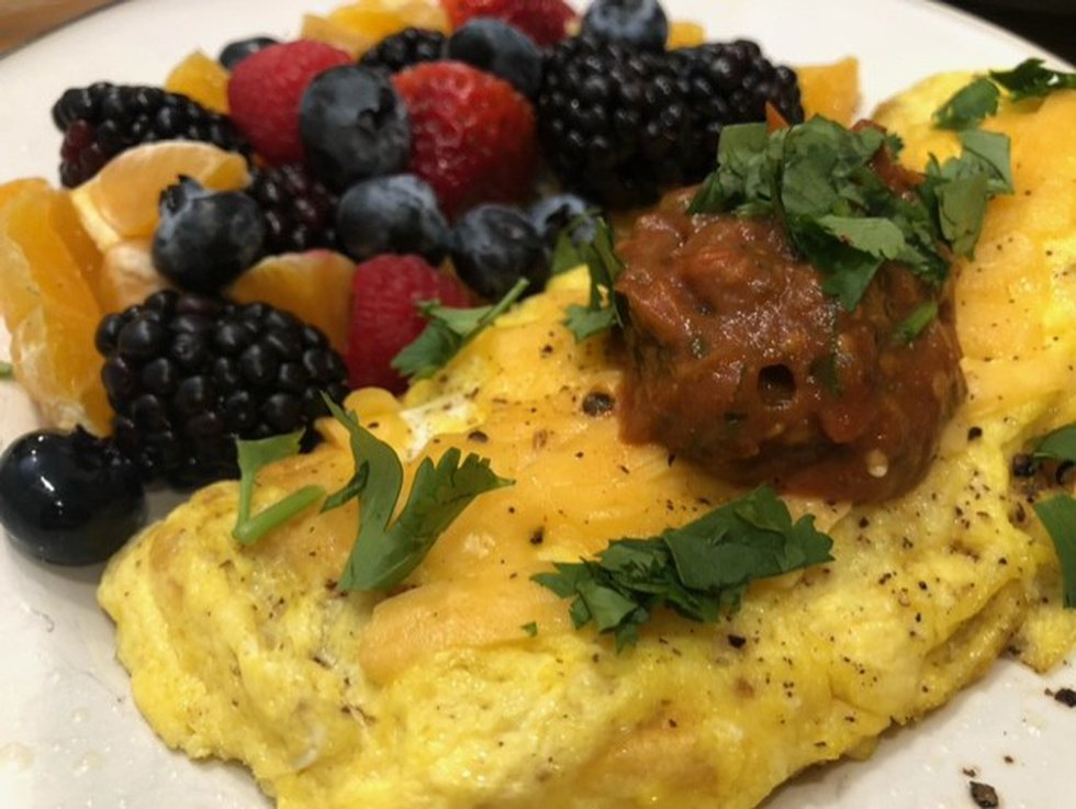 It's a flavorful topping for eggs, tacos, salads, soups and baked potatoes.