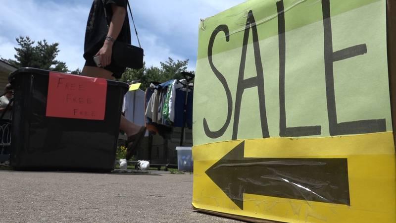 garage sales in the ozarks