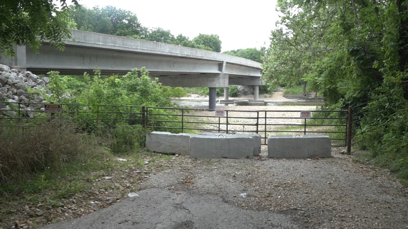 Property owners in the Lindenlure area closed access to the Finley River in March of 2020.