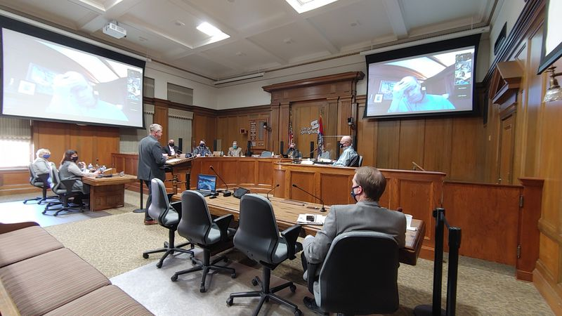 City and health leaders discuss extension of masking ordinance