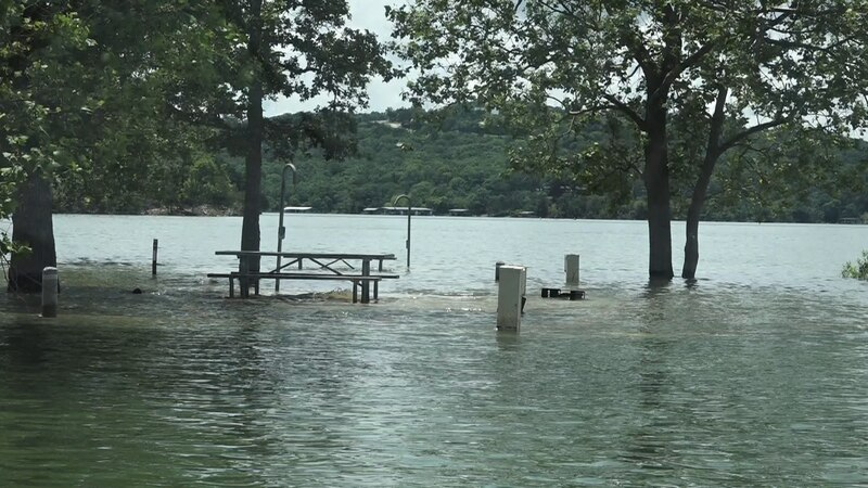 Lake levels are rising and with more rain expected this week, boaters should use caution when...