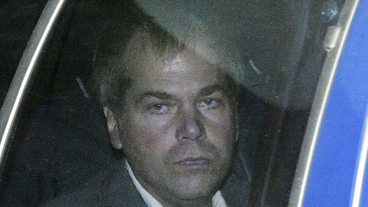 FILE - In this Nov. 18, 2003 file photo, John Hinckley Jr. arrives at U.S. District Court in...
