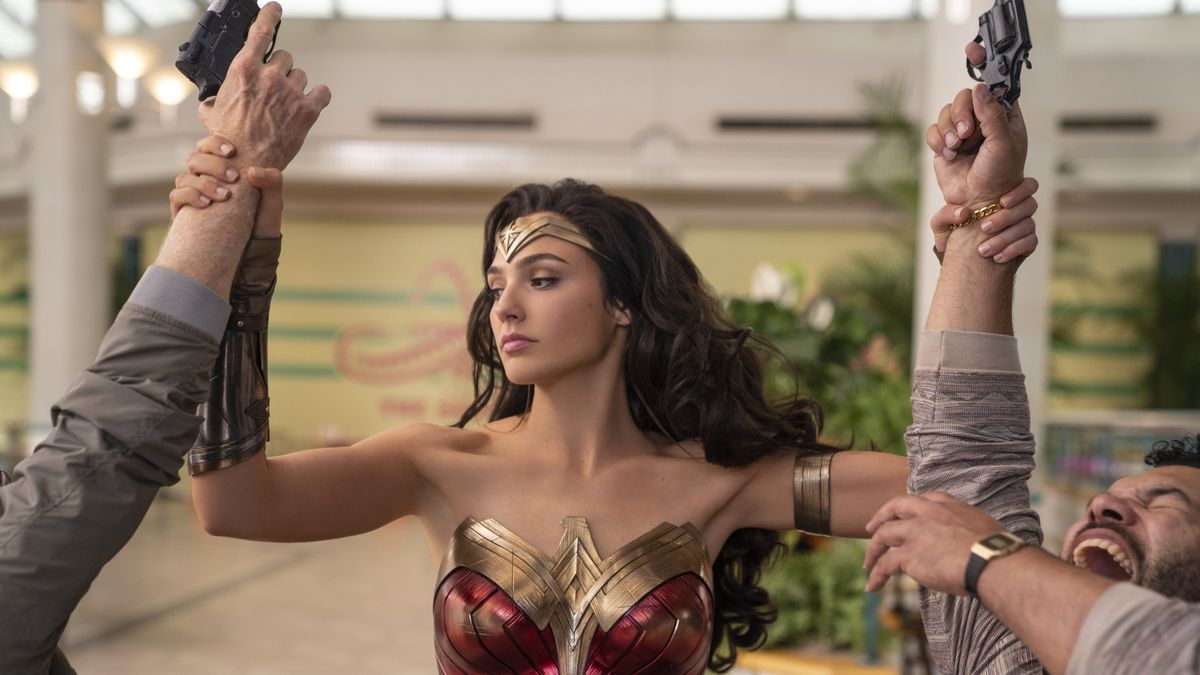 "This image released by Warner Bros. Entertainment shows Gal Gadot in a scene from ""Wonder Woman..."