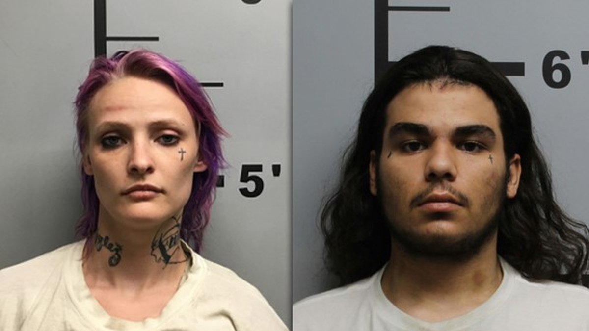 The Benton County Sheriff's Office says 22-year-old Shawna Cash of Pine Bluff and 18-year-old...