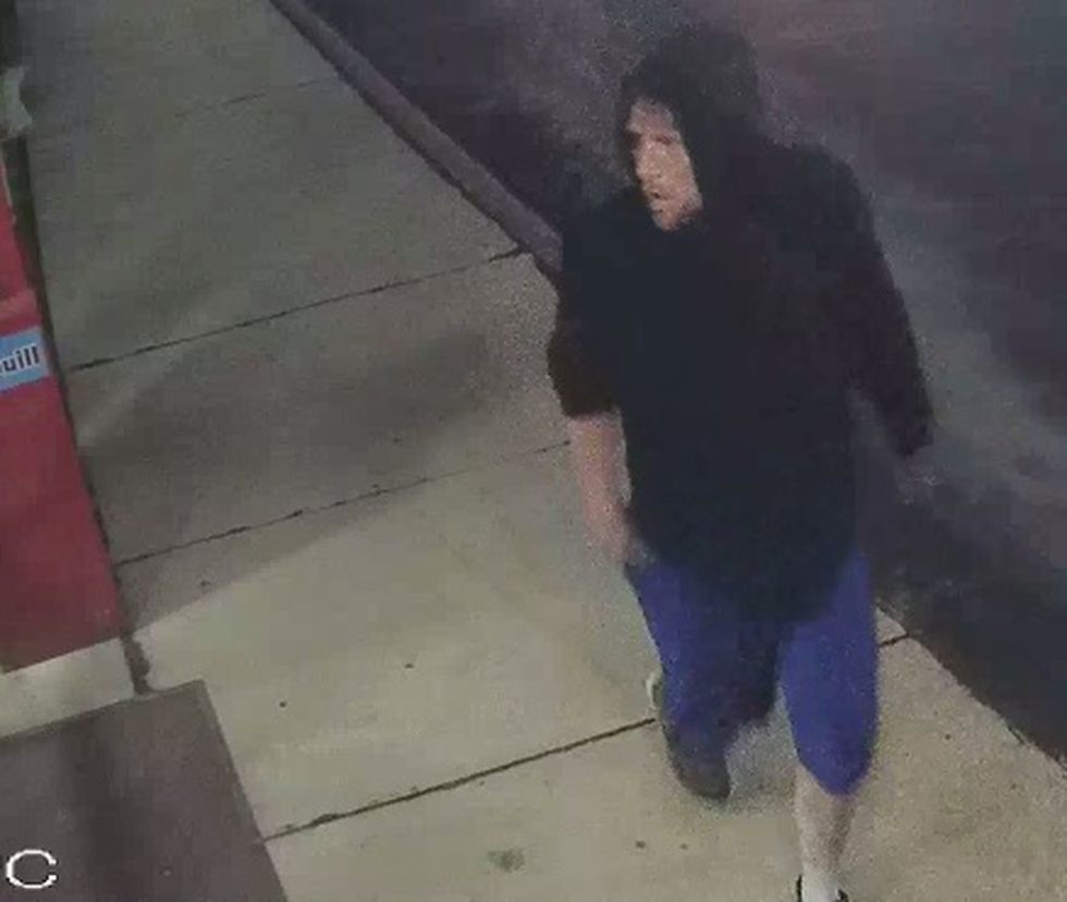Officers say this man could be connected to several car break-ins this week.