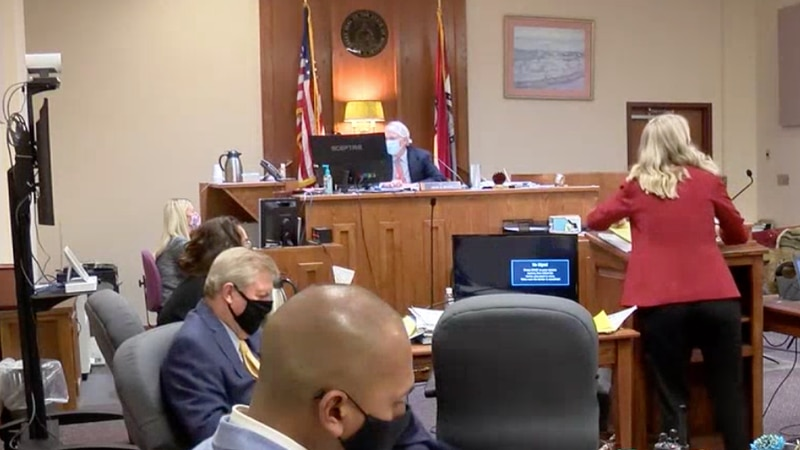 Samantha Dillbeck Trial/Greene County Courtroom