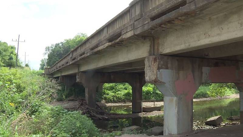 Bridge on South Scenic Ave. scheduled to be replaced in 2022.