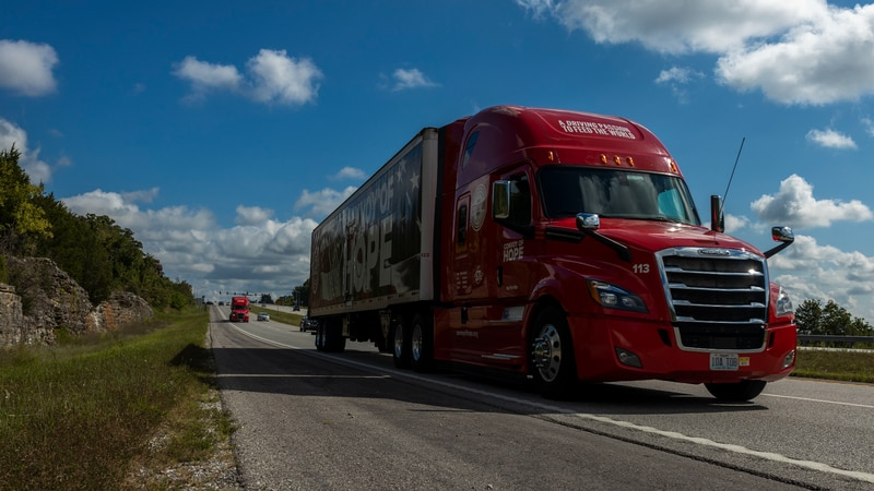 Convoy of Hope departs to La. for relief efforts.