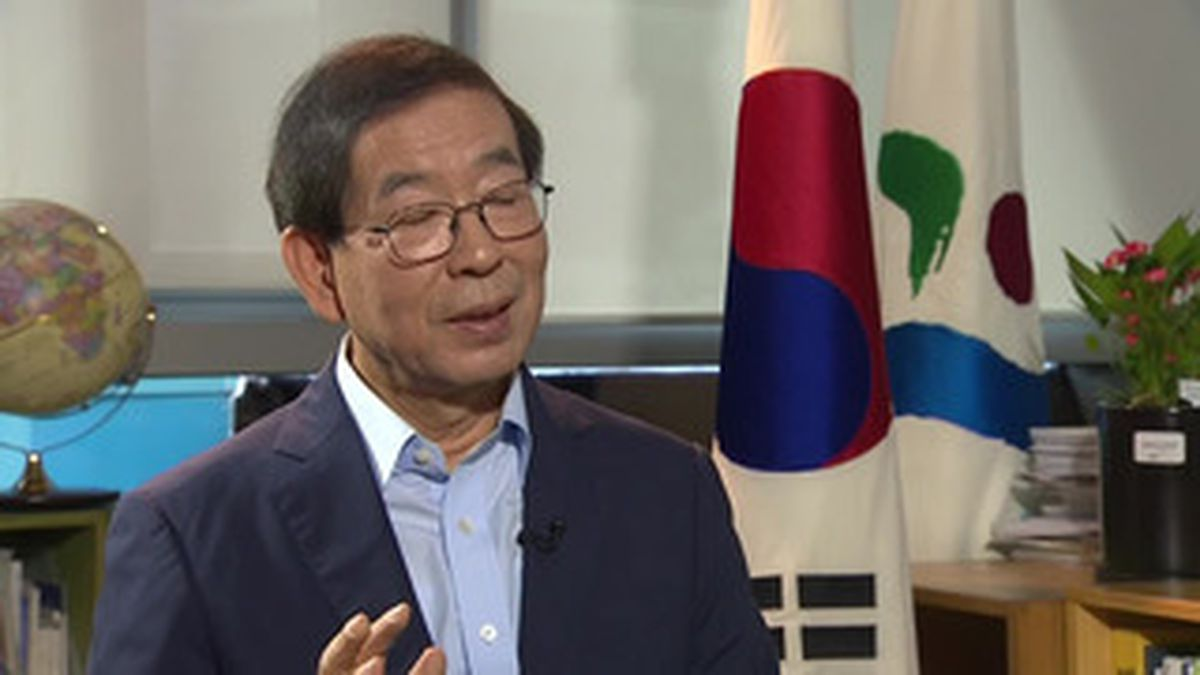 Park Won-soon: Mayor of Seoul reported missing with search under way