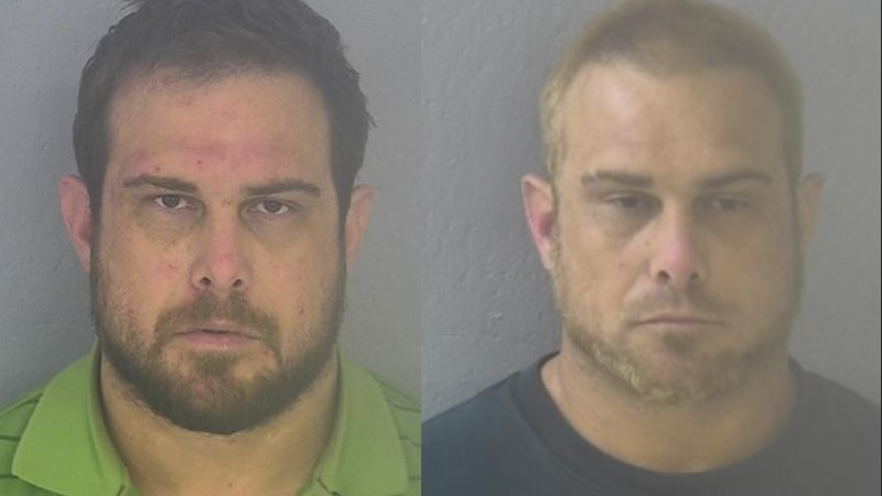 Deputies say Michael Sharp had changed his appearance, including bleaching his hair and beard.