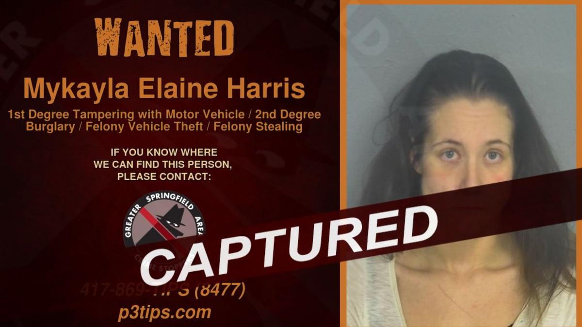 Mykayla Elaine Harris/Springfield Police Department