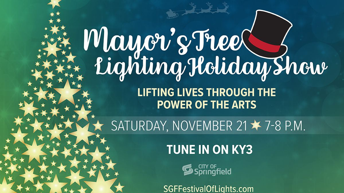 Saturday marks the annual lighting of Springfield's downtown Christmas tree this weekend.