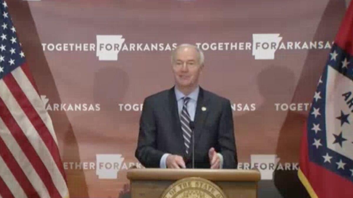 Gov. Hutchinson/State of Arkansas