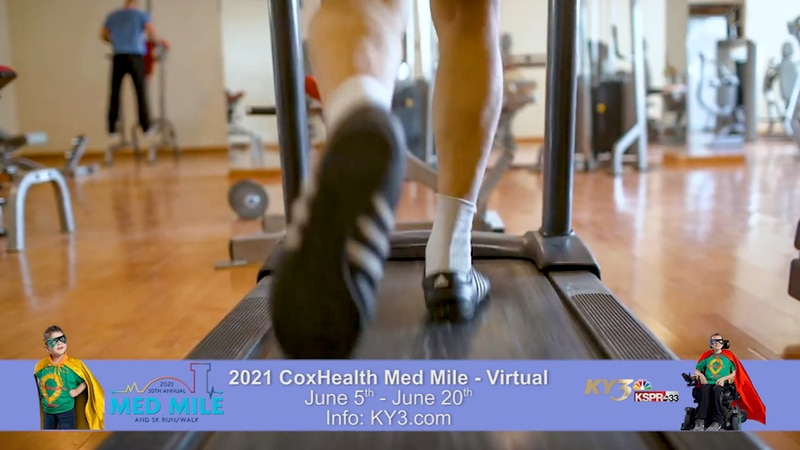 The 30th Annual CoxHealth Med Mile and 5K Run/Walk is going virtual again this year.