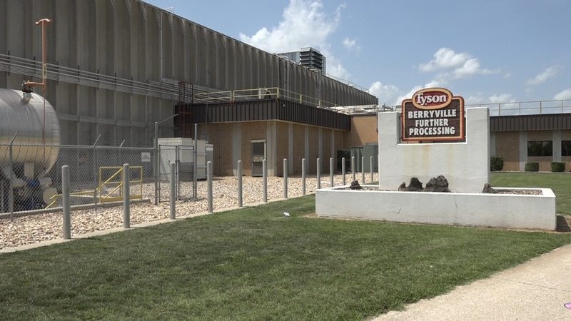 The Tyson Foods plant in Berryville celebrated its 50th anniversary of operation.