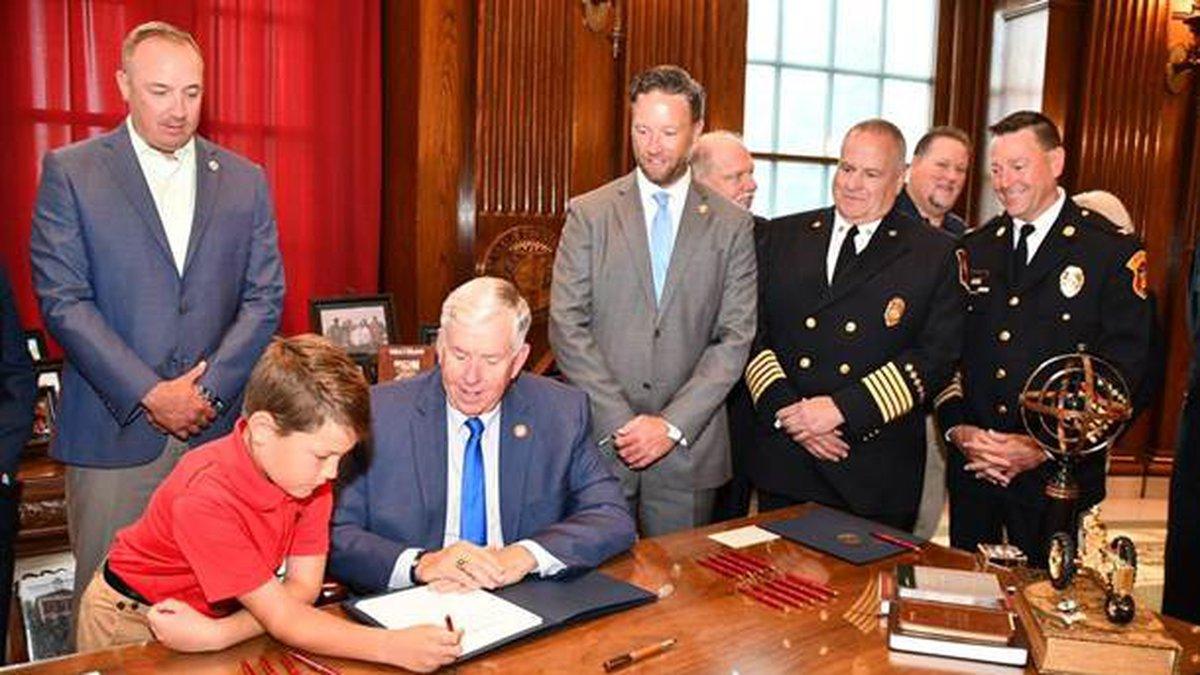 Bill signing ceremony
