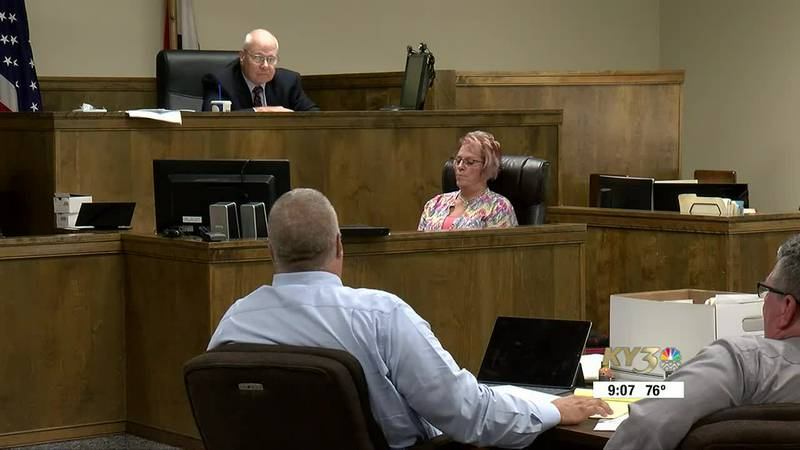 Pulaski County Courtroom