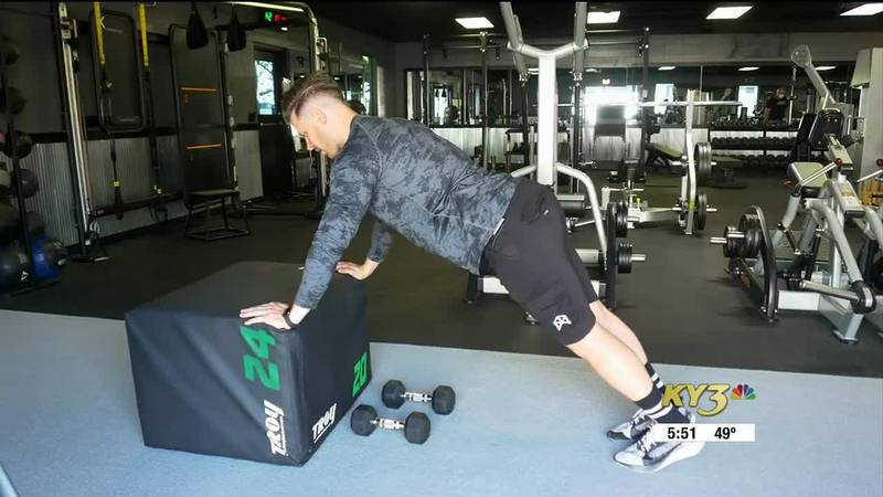Quick 5 move upper body workout