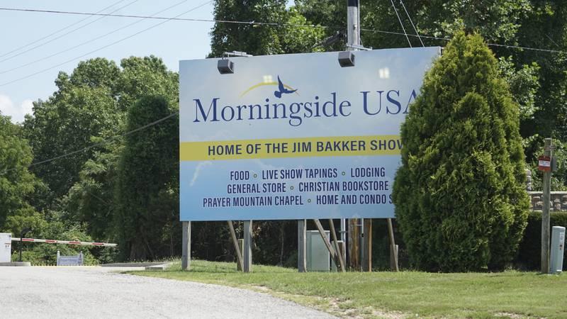 Morningside Church's property, home to televangelist Jim Bakker, is seen Friday, Aug. 14,...