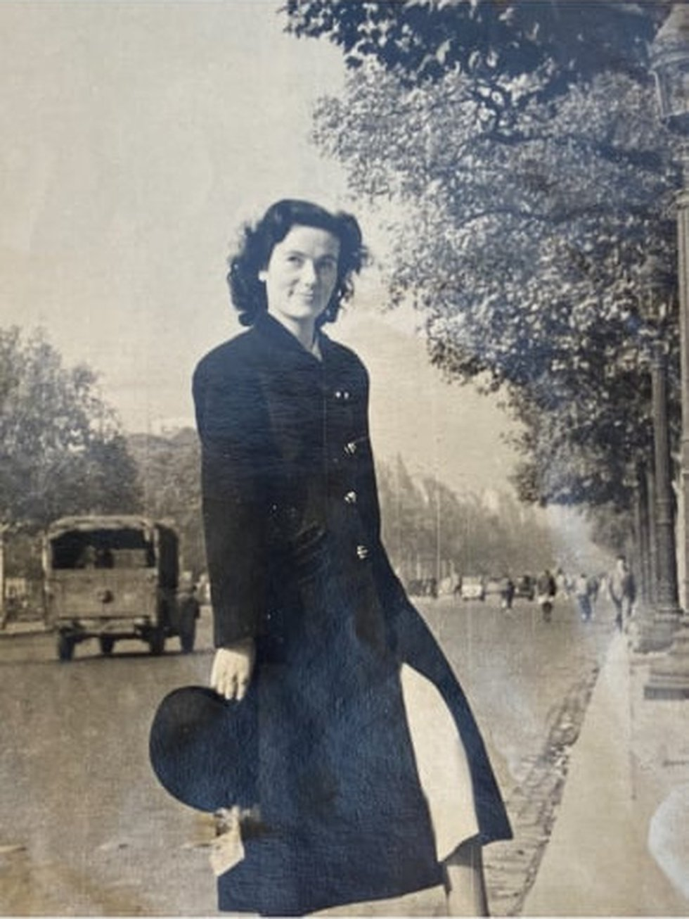 Jaqueline and Jack dated while they were stationed in France.
