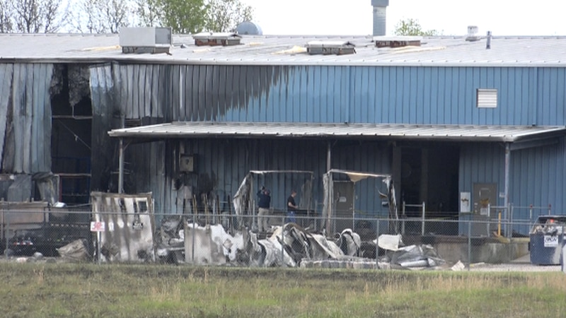 While a fire at a Marshfield propane facility set off a hot spot that could be seen from space,...