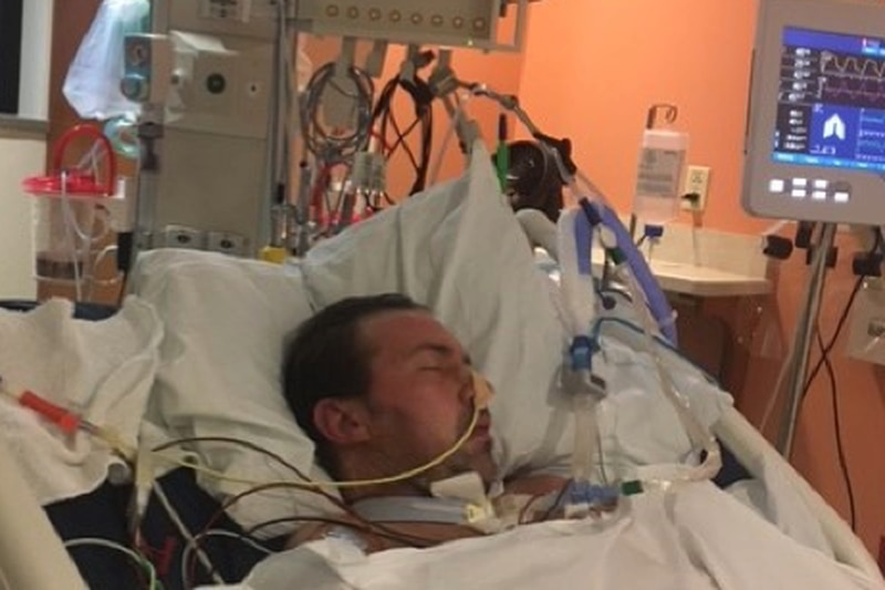 Tim Thompson spent over two months in the hospital battling COVID-19. He barely survived, and...