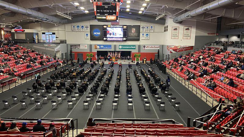 Drury University winter commencement 2020