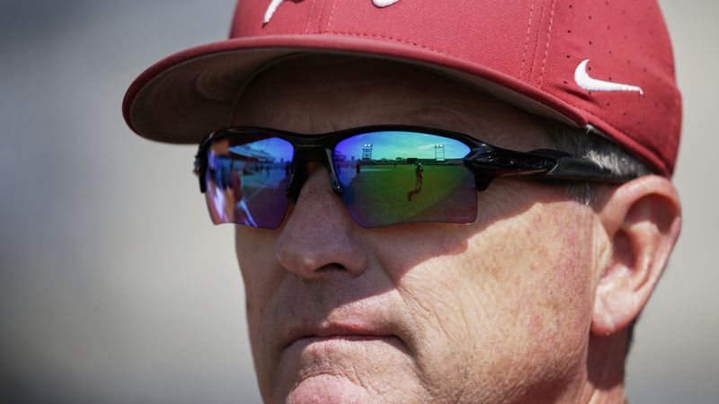 FILE -TD Ameritrade Park, home of the College World Series, is reflected in the sunglasses of...