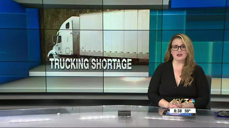 Trucking companies across the country are experiencing shortages